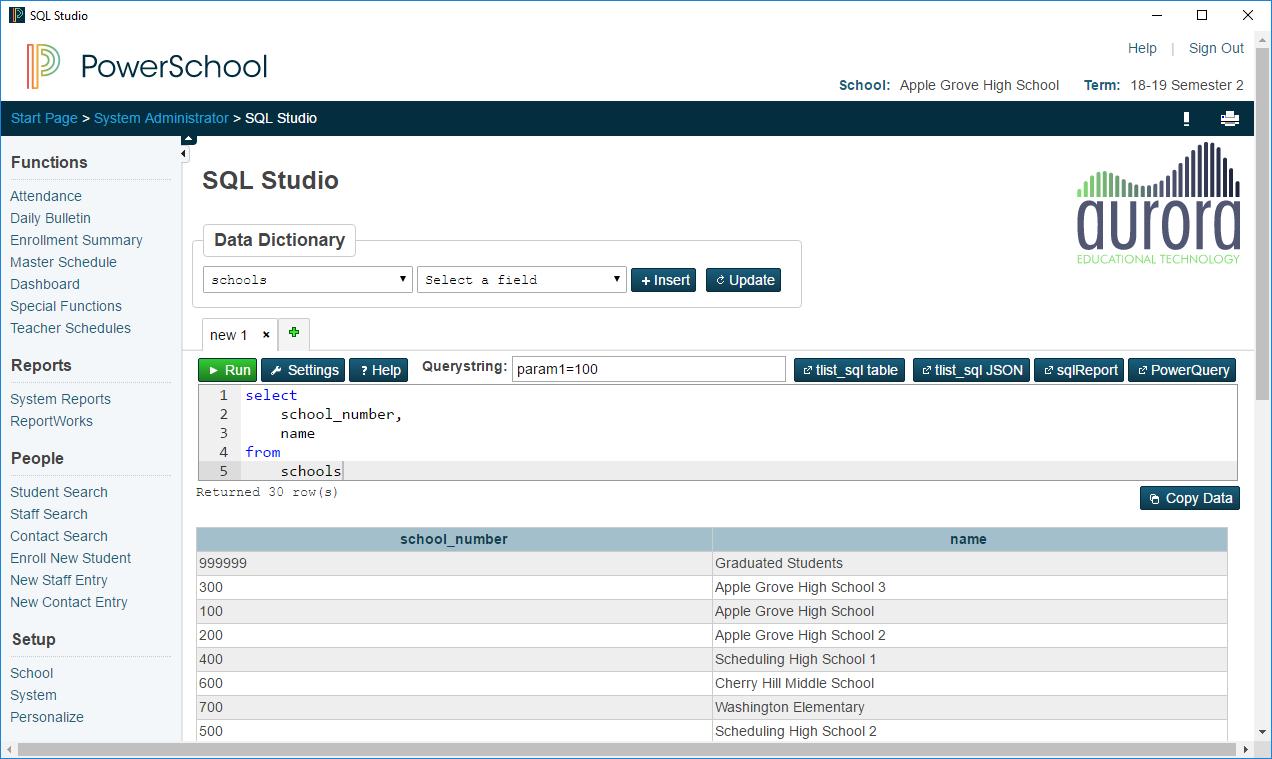 SQL Studio